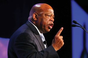 US Rep. John Lewis (D-Ga.) speaks to attendees at the 2013 ALA Annual Conference and Exhibition in Chicago.