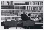 Gabriel Garcia Marquez in his library (Photo: Peter Badge/Gabriel Garcia Marquez Papers, Harry Ransom Center)