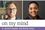On My Mind, by Jarrett Dapier and Emily Knox