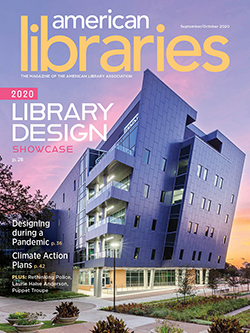 Cover of American Libraries September/October 2020