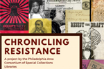 Chronicling Resistance poster collage