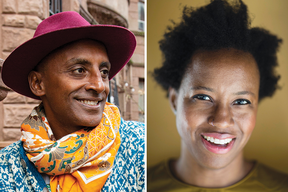 Marcus Samuelsson (left) and Osayi Endolyn [Photos: Angie Mosier (Samuelsson); Lucy Schaeffer Photography (Endolyn)]