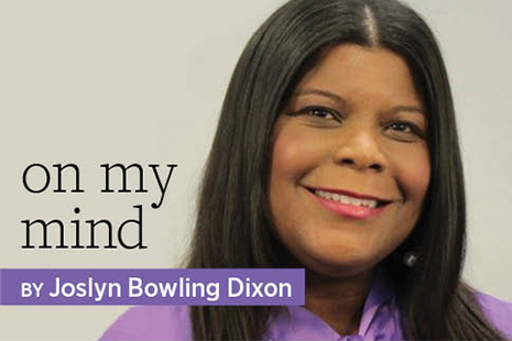 On My Mind by Joslyn Bowling Dixon