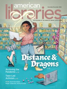 Cover of American Libraries November/December 2020