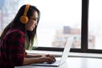 Woman in headphones at laptop (Photo: Christina Morillo/Pexels)