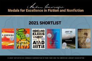 Andrew Carnegie Medals for Excellence in Fiction and Nonfiction 2021 Shortlist