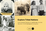 Screenshot of the Bureau of Indian Affairs Photographs Finding Aid