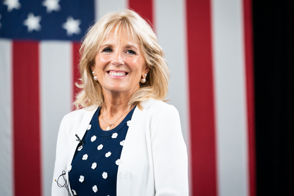 Dr. Jill Biden (Photo: Adam Schultz)