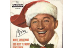 Front cover of picture sleeve for the Vinyl Single White Christmas by Bing Crosby