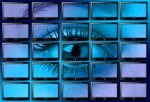 Wall of monitors with eye (Image: Gerd Altmann/Pixabay)