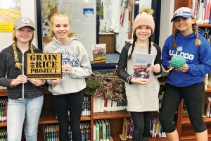 Batesville (Ind.) Intermediate School students held a read-a-thon to raise money for the nonprofit Grain of Rice Project. Photo: Batesville (Ind.) Intermediate School