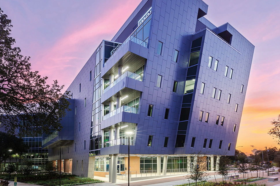 The Library Learning Center at Texas Southern University in Houston
