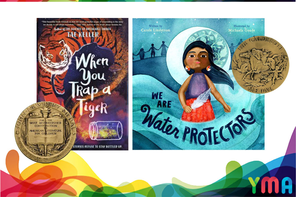 Newbery Award winner When You Trap a Tiger and Caldecott Medal winner We Are Water Protectors