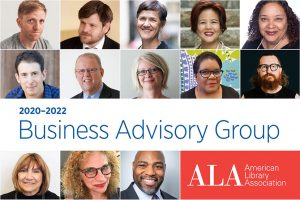 ALA Business Advisory Group with headshots of members in a grid