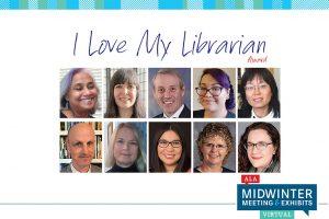 I Love My Librarian Award winners 2021