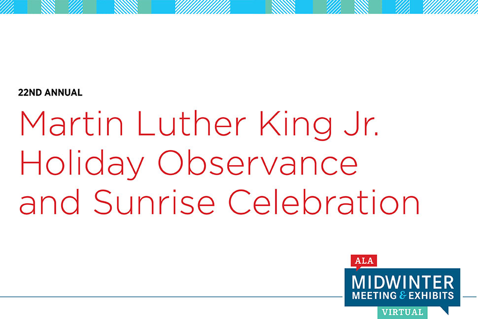 Martin Luther King Jr. Holiday Observance and Sunrise Celebration