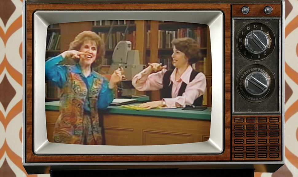 Deaf actor Linda Bove played Linda the Librarian on Sesame Street for 31 years. Photo illustration: YouTube (screenshot); ©R. Gino Santa Maria/Adobe Stock (television)
