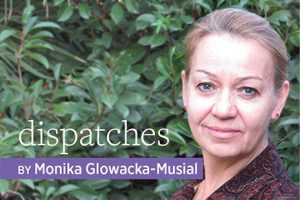 Portrait of Dispatches author Monika Glowacka-Musial