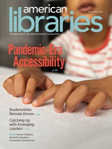 Cover of American Libraries March/April 2021