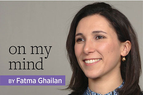 On My Mind with Fatma Ghailan