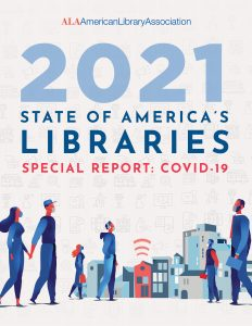 Cover of the State of America's Libraries Special Report