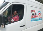 Williamsburg (Va.) Regional Library has a van that provides Wi-Fi to the community.