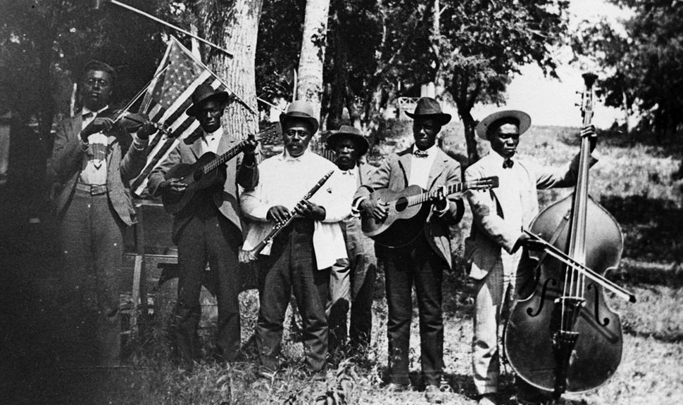 A band celebrates Juneteenth in Austin, Texas, in 1900. Photo by Austin History Center, Austin Public Library