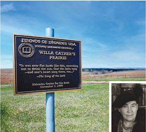 Willa Cather Memorial Prairie. Photo by Mary Caperton Morton/The Blonde Coyote