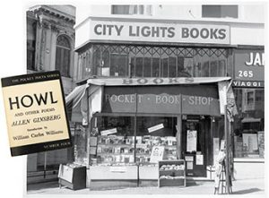 City Lights Books. Photo: San Francisco History Center, San Francisco Public Library