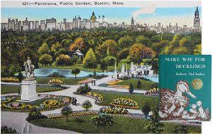 Robert McCloskey is honored at Boston Public Garden
