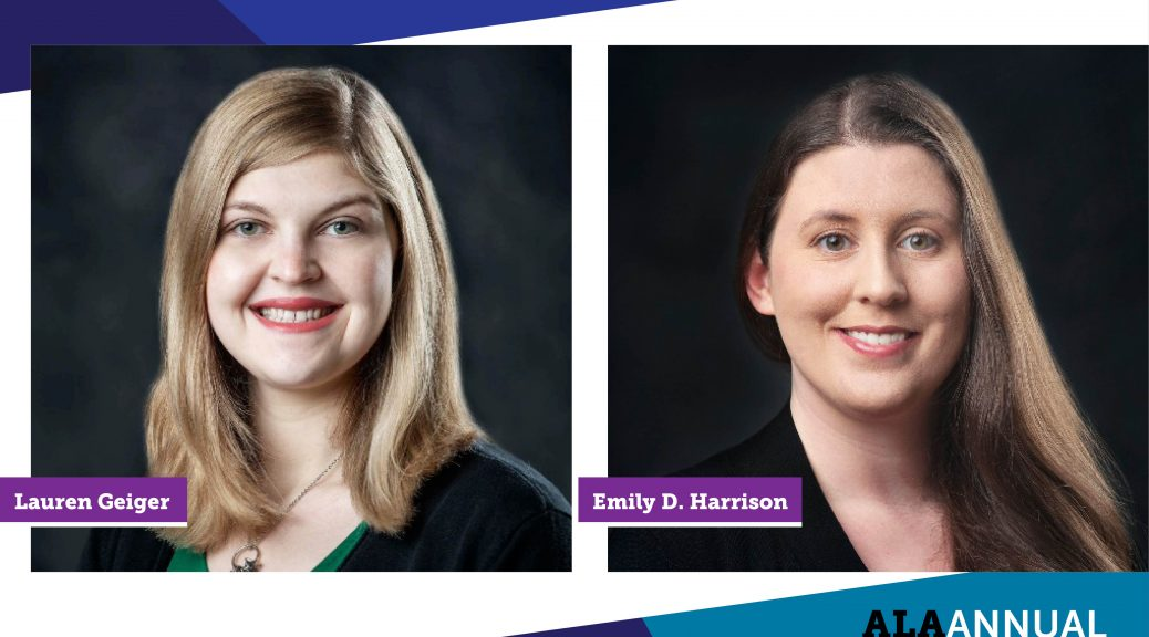 Accessible not just discoverable; Lauren Geiger and Emily D. Harrison