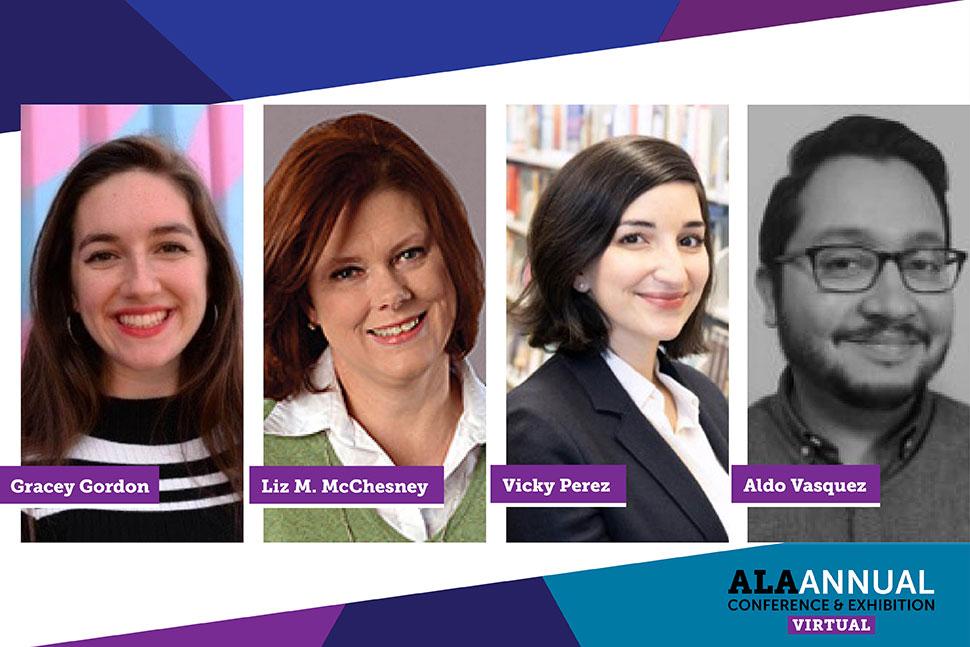 Gracey Gordon, Liz M. McChesney, Vicky Perez, Aldo Vasquez