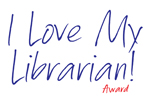 I Love My Librarian logo
