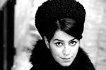 Marjane Satrapi (black & white)