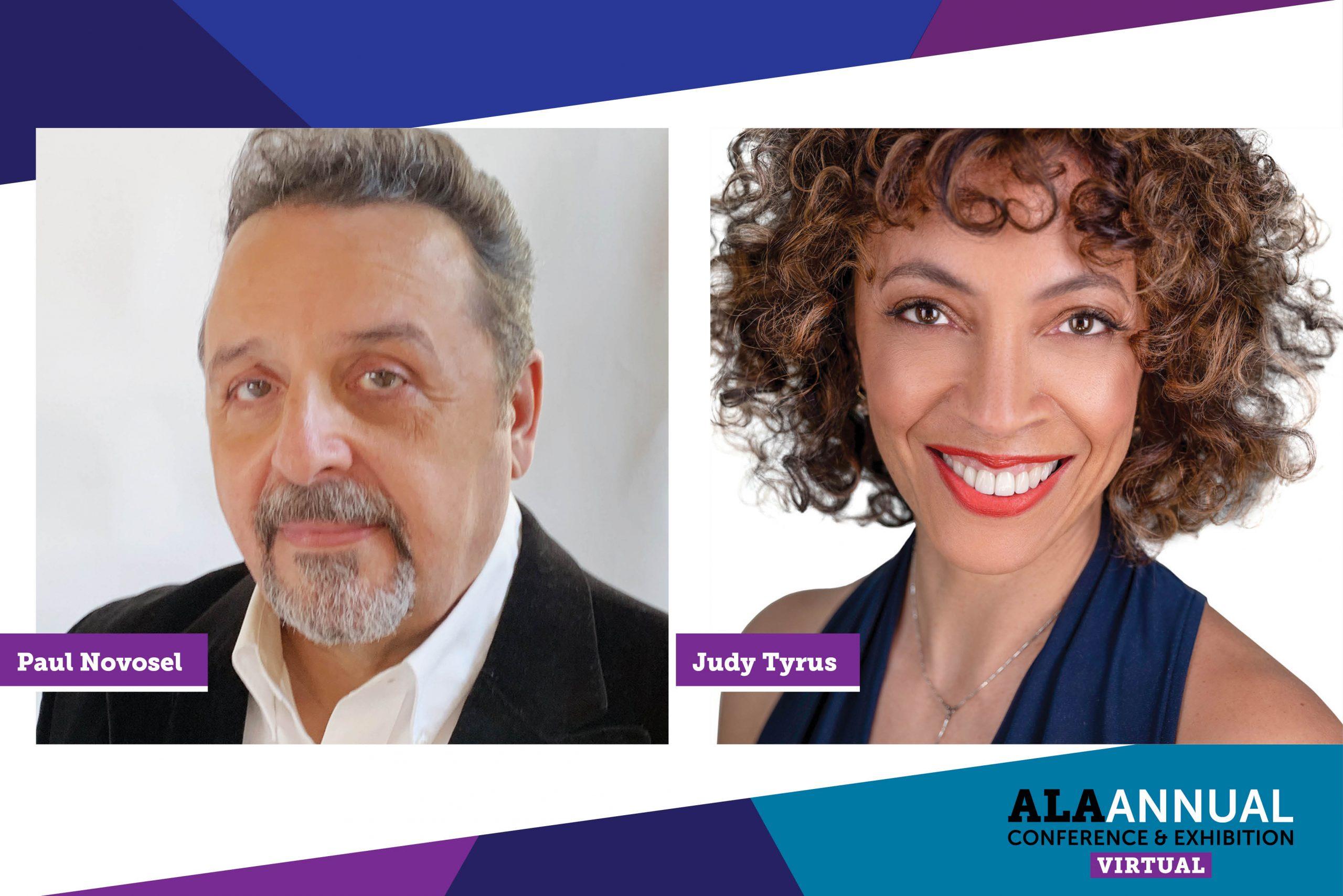 Judy Tyrus and Paul Novosel