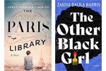 Covers of The Paris Library and The Other Black Girl