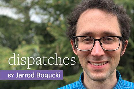 Photo of Dispatches author Jarrod Bogucki