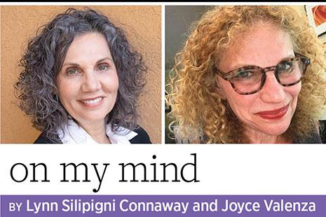 Photos of On My Mind authors Lynn Silipigni Connaway and Joyce Valenza