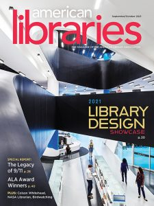Cover of American Libraries September/October 2021