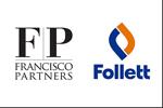 Logos of Francisco Partners and Follett