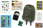 Henrico County (Va.) Public Library offers children's nature and birdwatching backpacks, available for checkout, as part of a broader effort to educate youth about wildlife.