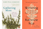 Covers of Gathering Moss and Wintering
